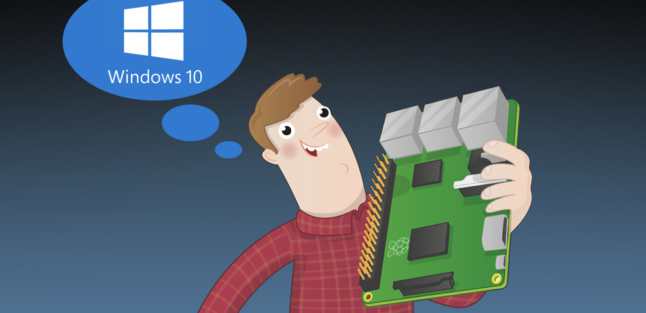 Comment installer Windows 10 on ARM sur un Raspberry Pi 3 (microSD et USB)