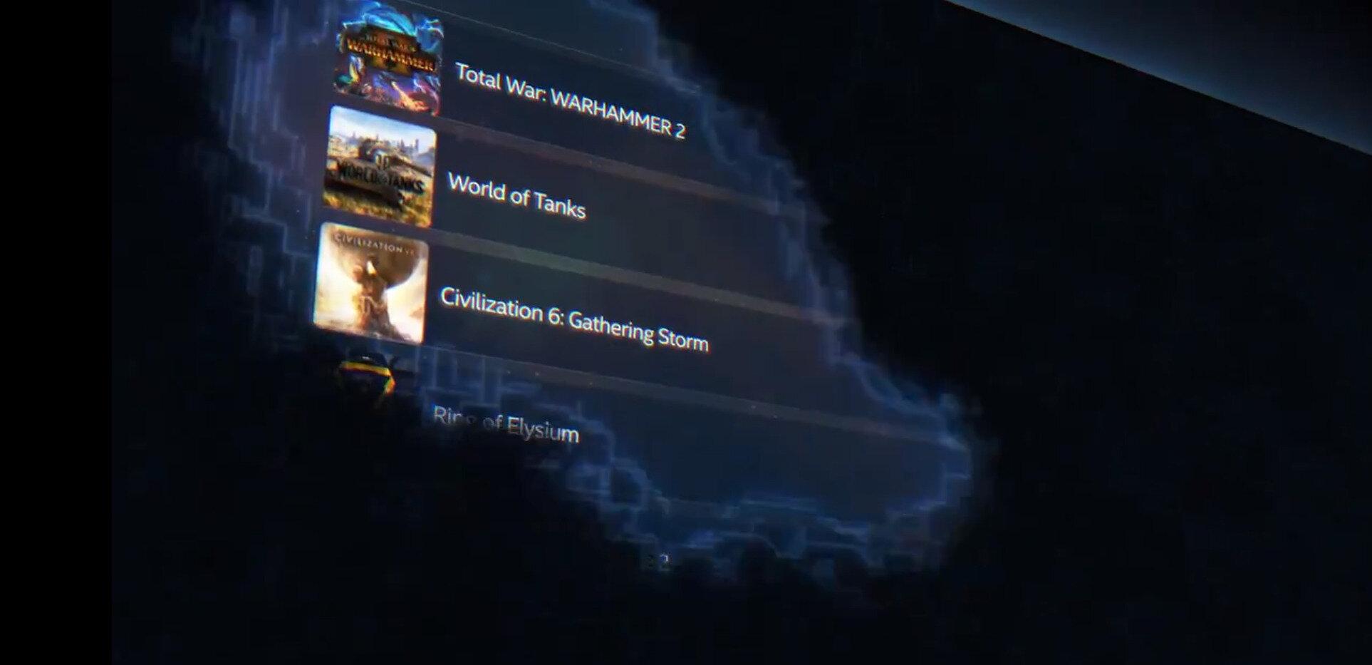 Intel Graphics : le nouveau panneau de contrôle d'ici la fin du mois