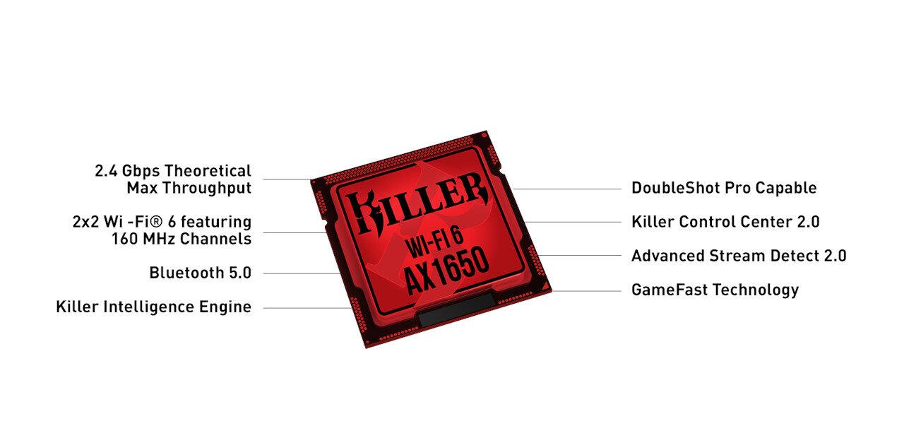 Killer AX1650 : Rivet Networks annonce à son tour une puce Wi-Fi 6
