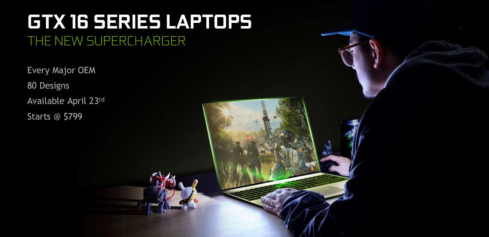 NVIDIA annonce sa GeForce GTX 1650 à 159 euros et de nouveaux GPU pour portables