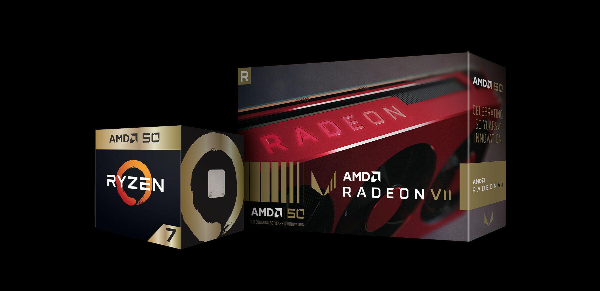 AMD : éditions spéciales, bundles et promotions à l'occasion des 50 ans de la marque