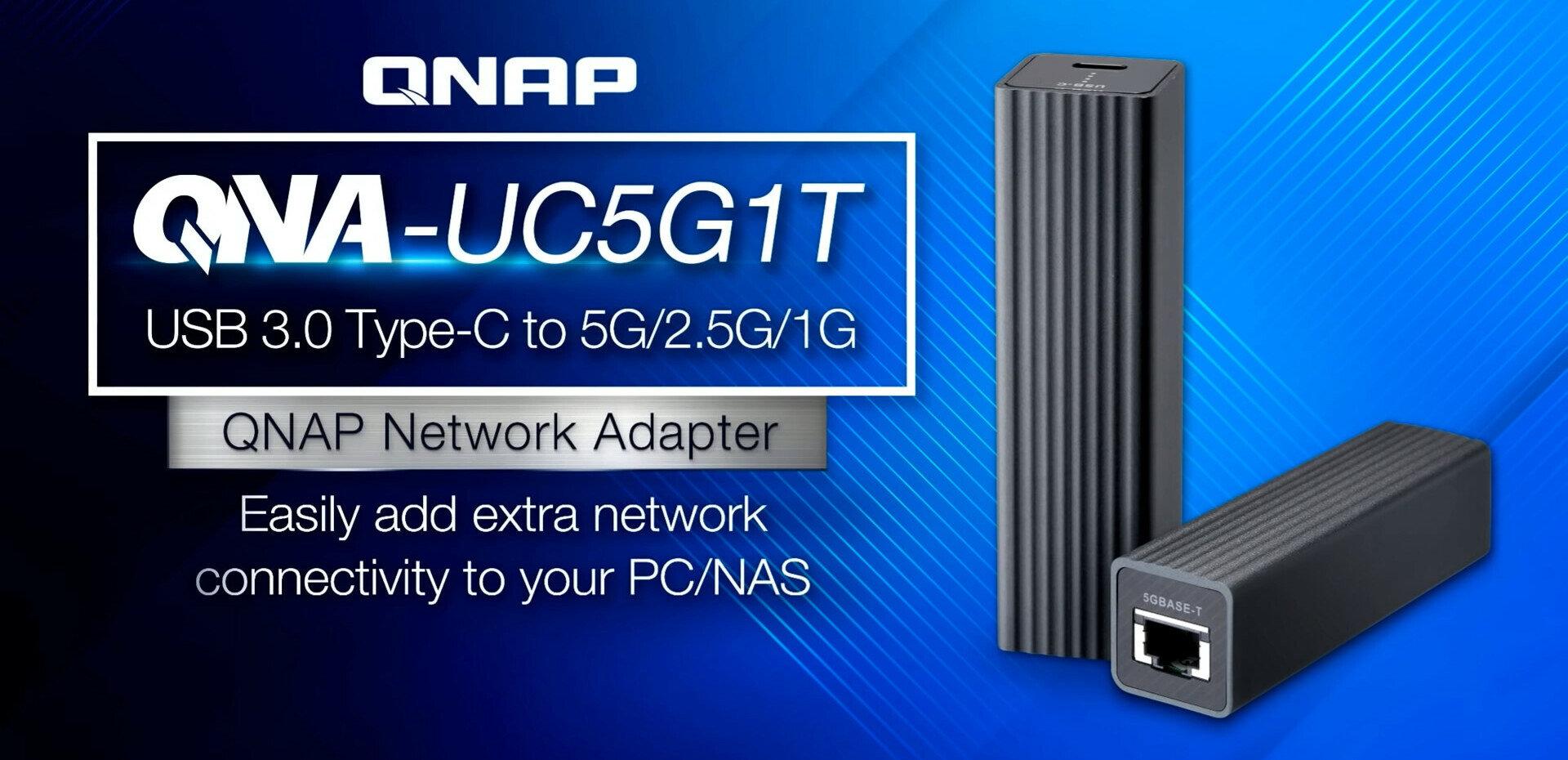 QNA-UC5G1T de QNAP : obtenez du réseau à 5 Gb/s depuis un port USB 3.0