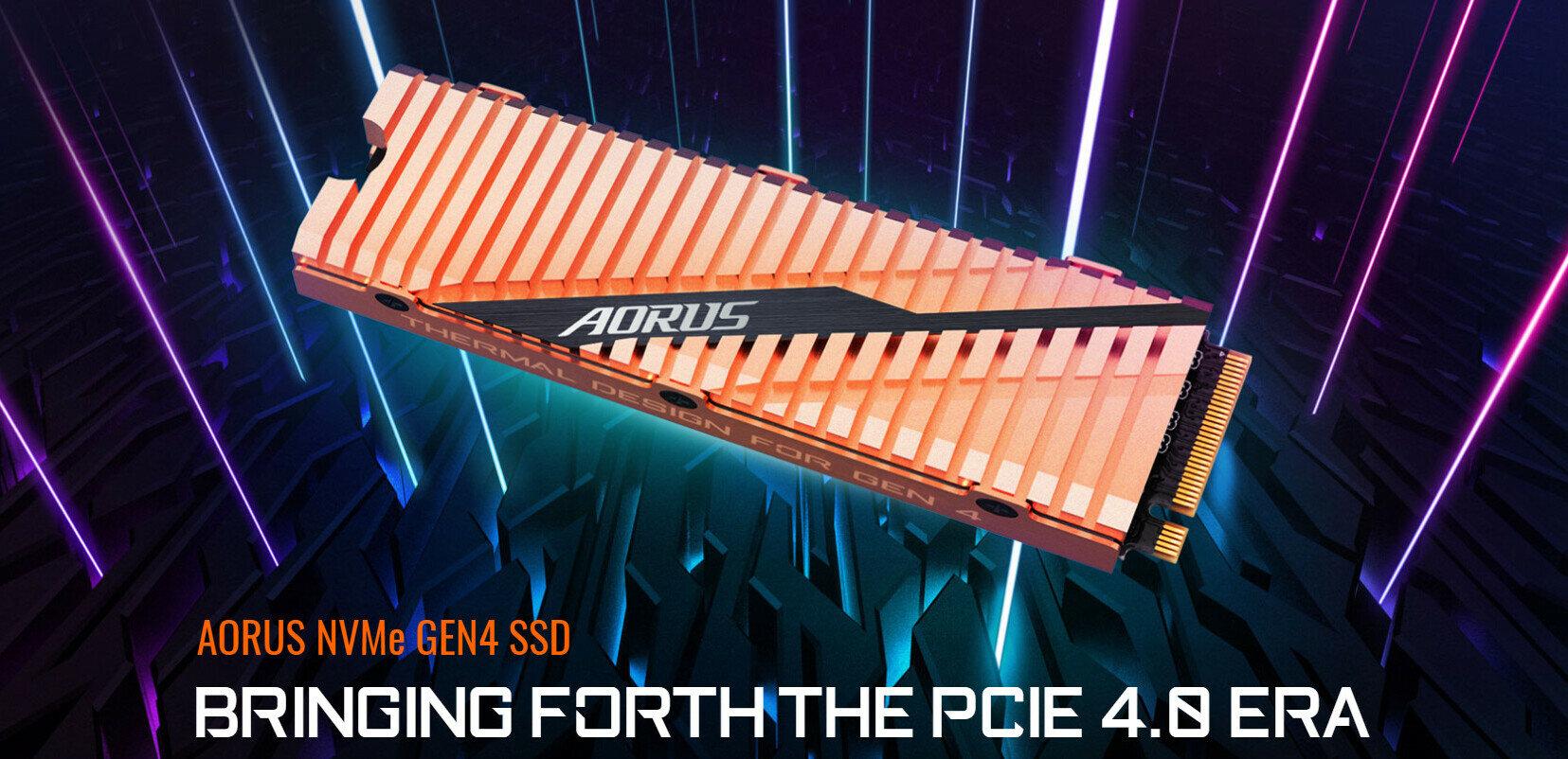 AMD vante le PCIe 4.0, Corsair, Gigabyte et Galaxy dévoilent leurs SSD à près de 5 Go/s