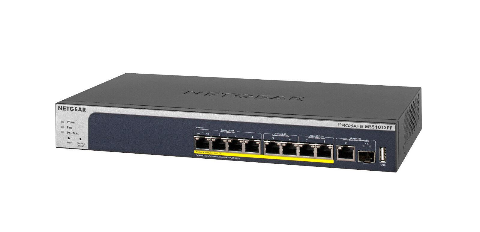 Netgear MS510TX(PP) : le switch Multi-Gig/10G parfait pour la Freebox Delta, quelle fibre choisir ?
