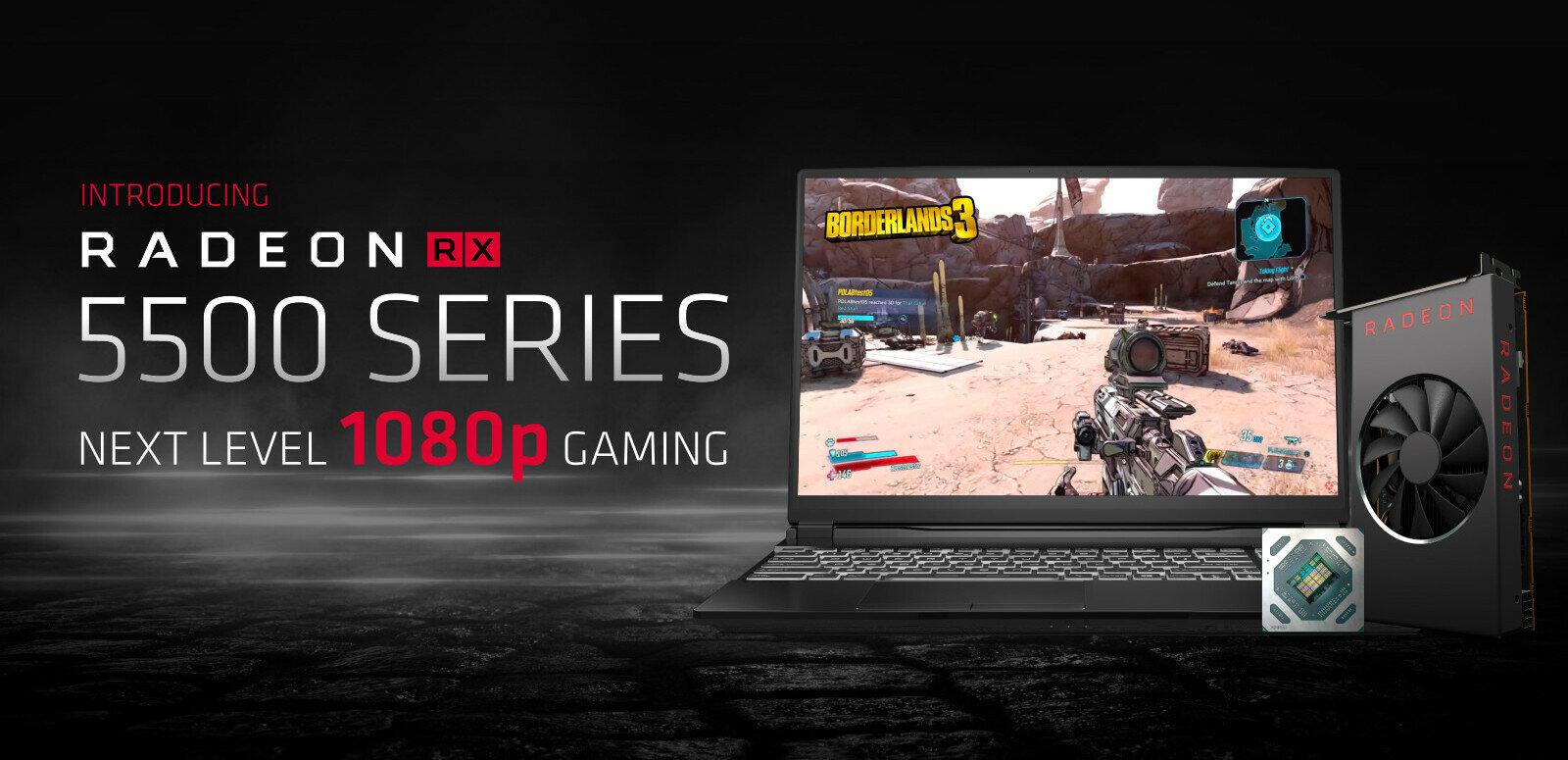La Radeon RX 5500 d'AMD pourrait être mise sur le marché le 12 décembre
