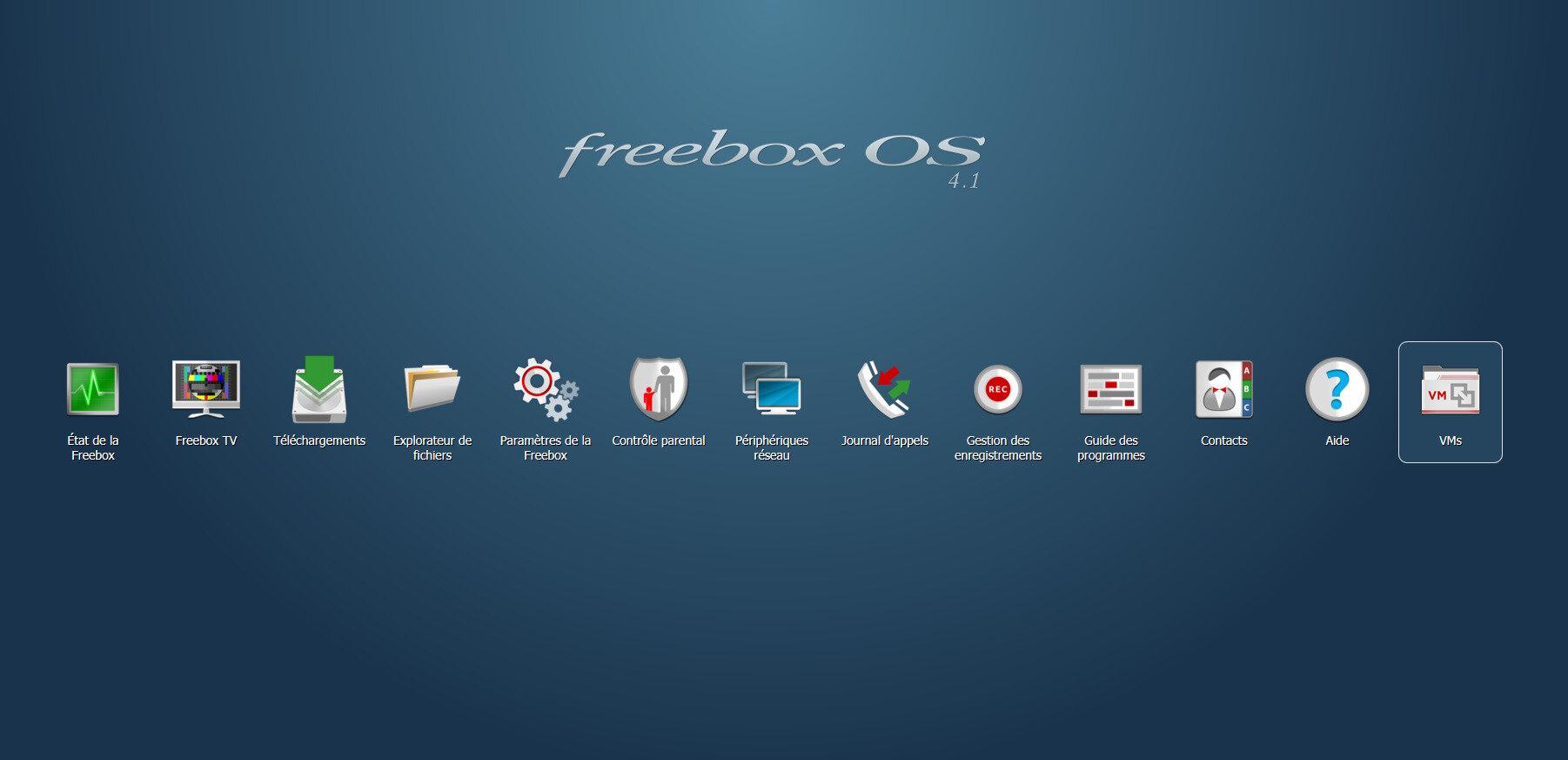 Freebox OS 4.1 : les dessous des machines virtuelles dans la Freebox Delta
