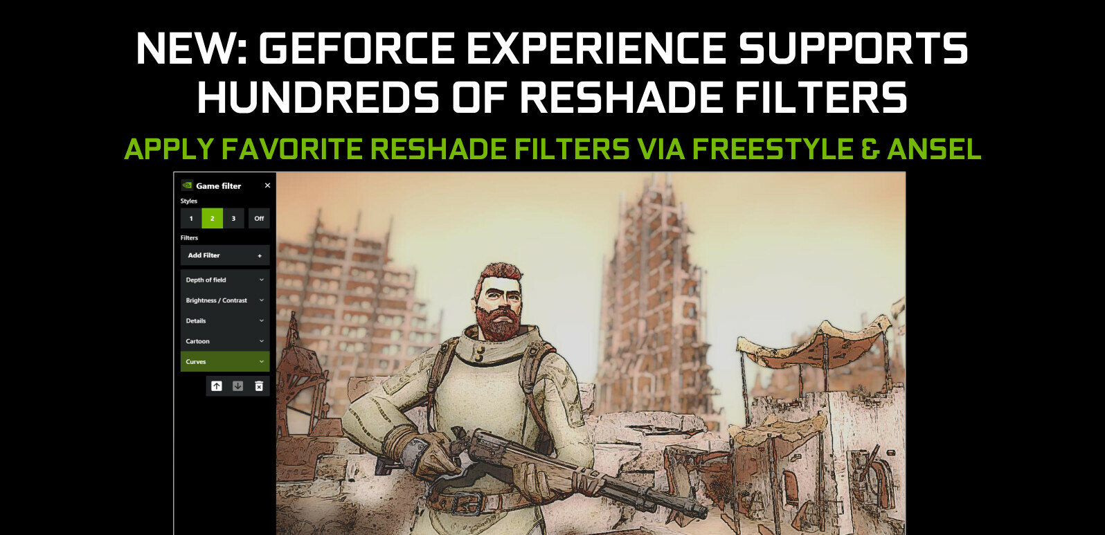 Filtres ReShade, basse latence, netteté de l'image : comment mieux profiter des derniers pilotes NVIDIA