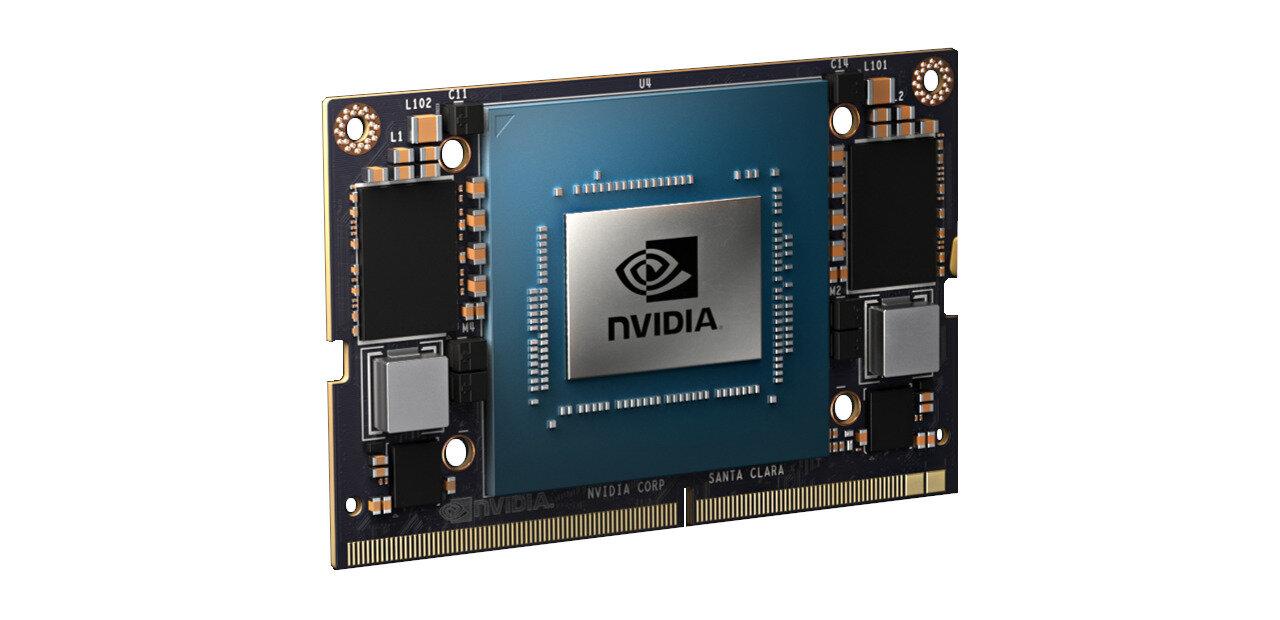 Jetson Xavier NX : NVIDIA annonce son nouveau Compute Module, 21 TOPS pour 15 watts