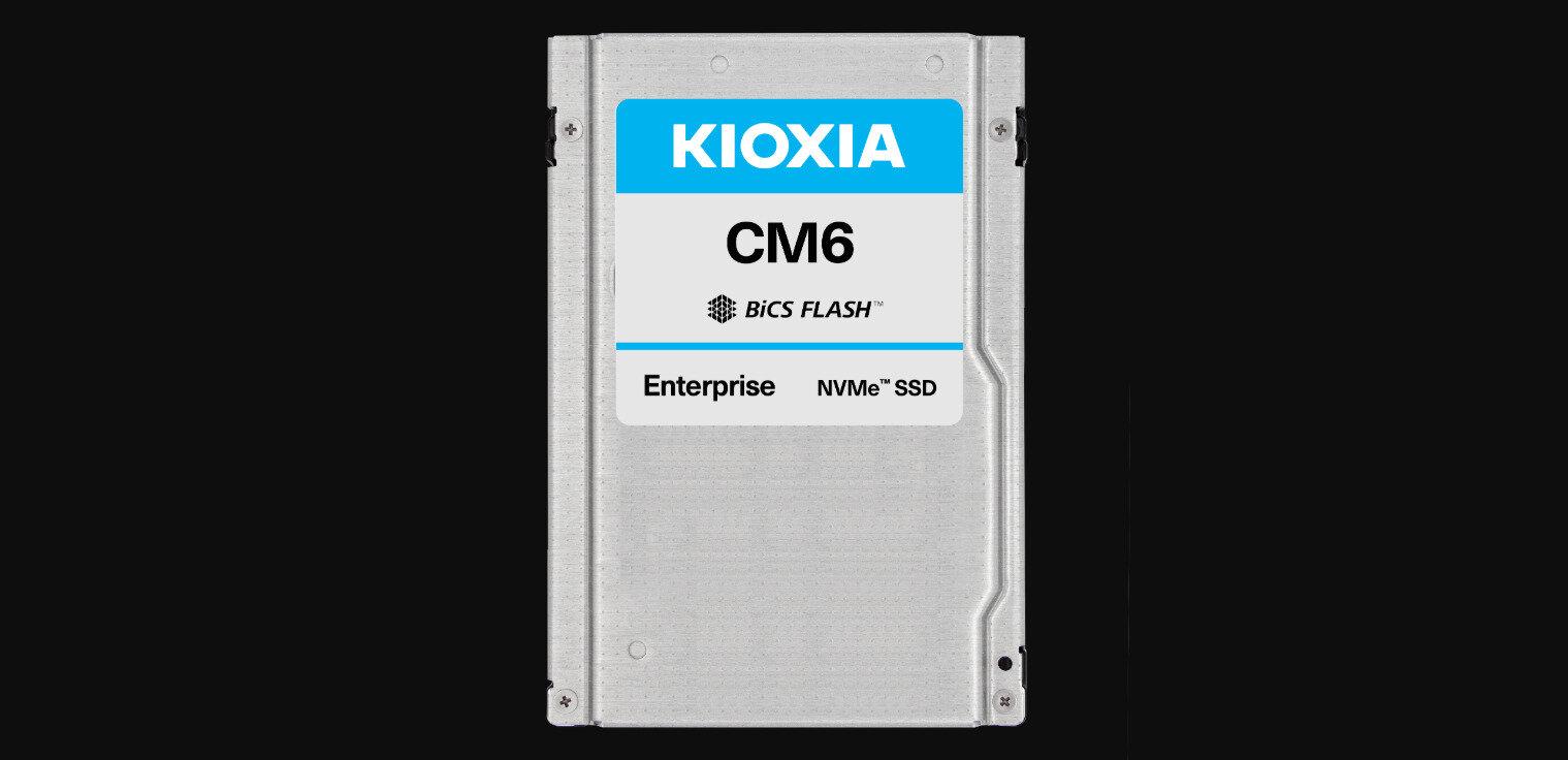 Kioxia (Toshiba) revient sur son SSD PCIe 4.0 CM6 (6,9 Go/s) en U.3