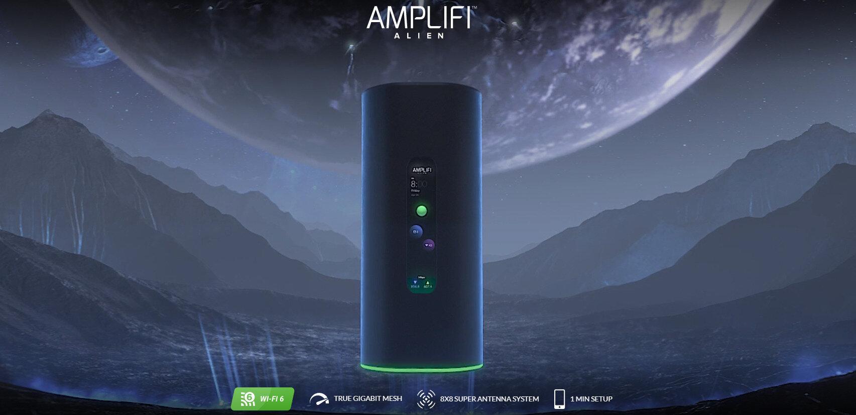 Ubiquiti dévoile son routeur Wi-Fi 6 AmpliFi Alien : 8x8 et « True Gigabit Mesh » à 379 dollars