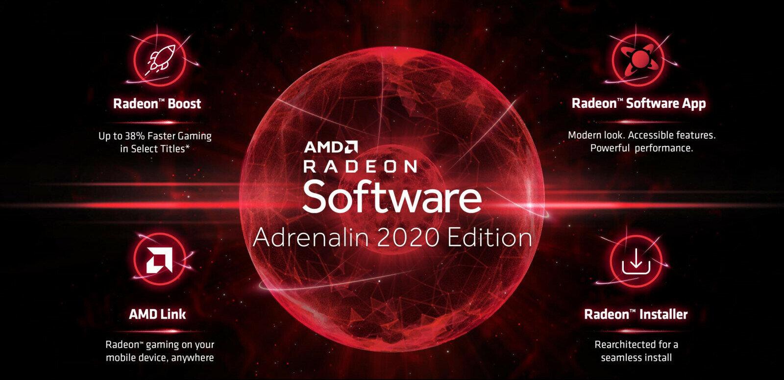 AMD publie ses pilotes Adrenalin 2020 (19.12.2) : Radeon Boost et nouvelle interface au programme