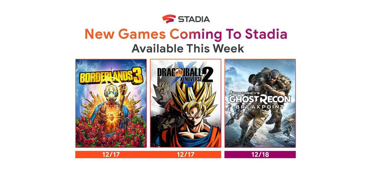 Trois nouveaux jeux intègrent Stadia, mais à quel prix ?