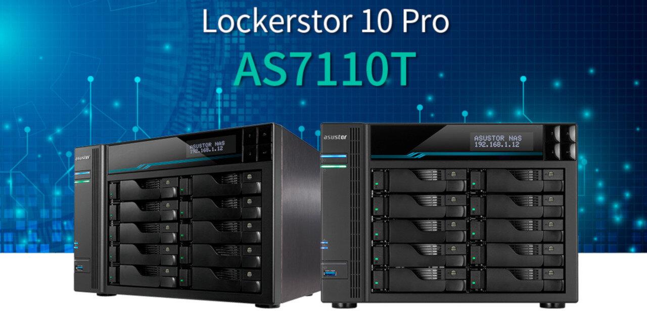 NAS Lockerstor 10 Pro d'Asustor : il utilisera finalement un processeur Xeon