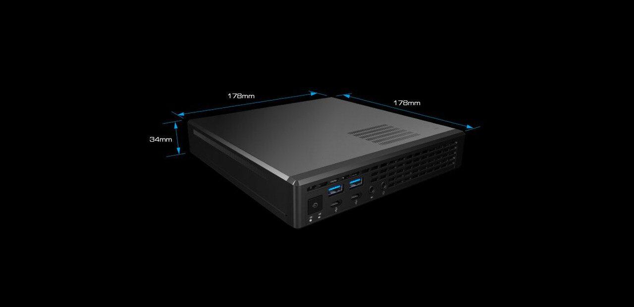 Jupiter A320 : le mini PC d'un litre d'ASRock s'adapte aux processeurs AMD