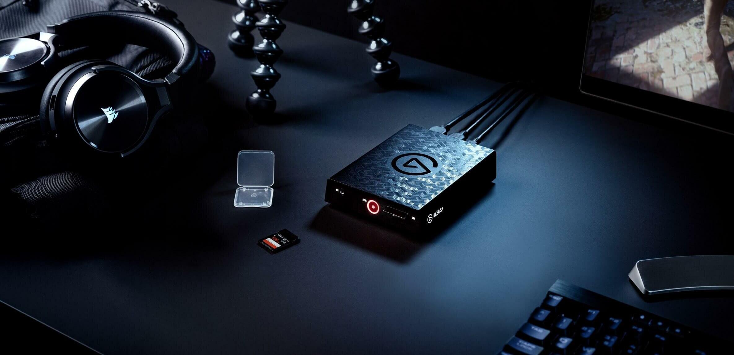 4K60 S+ : Elgato passe à la capture 4K HDR10 (HEVC) autonome et à l'USB Type-C