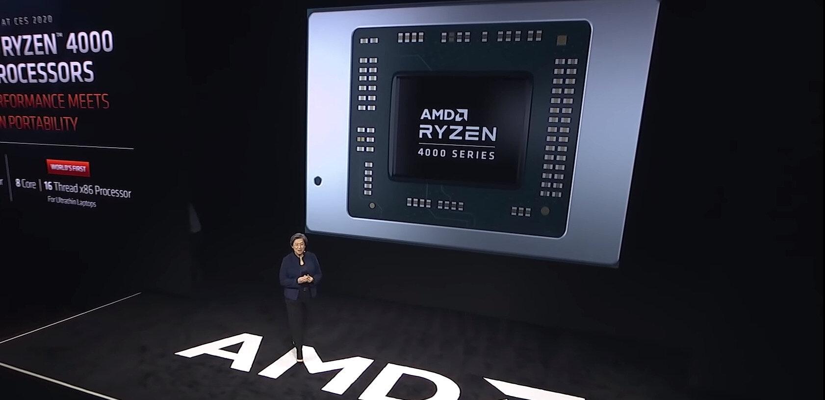Avec ses APU Ryzen Mobile 4000, AMD s'améliore mais continue de tromper son monde