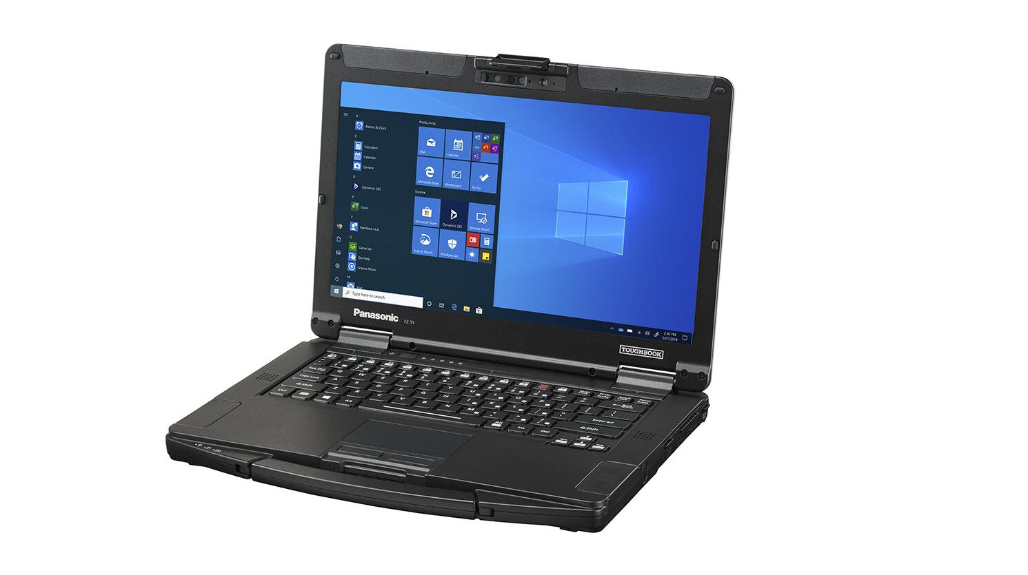 Le portable semi-durci TOUGHBOOK 55 de Panasonic entre dans la famille « Secured-core » de Microsoft