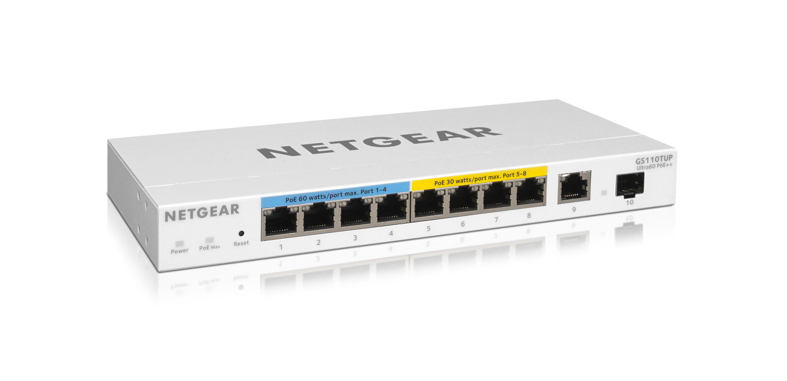 Netgear passe à son tour au PoE++ (jusqu'à 60 watts) « sans interruption »