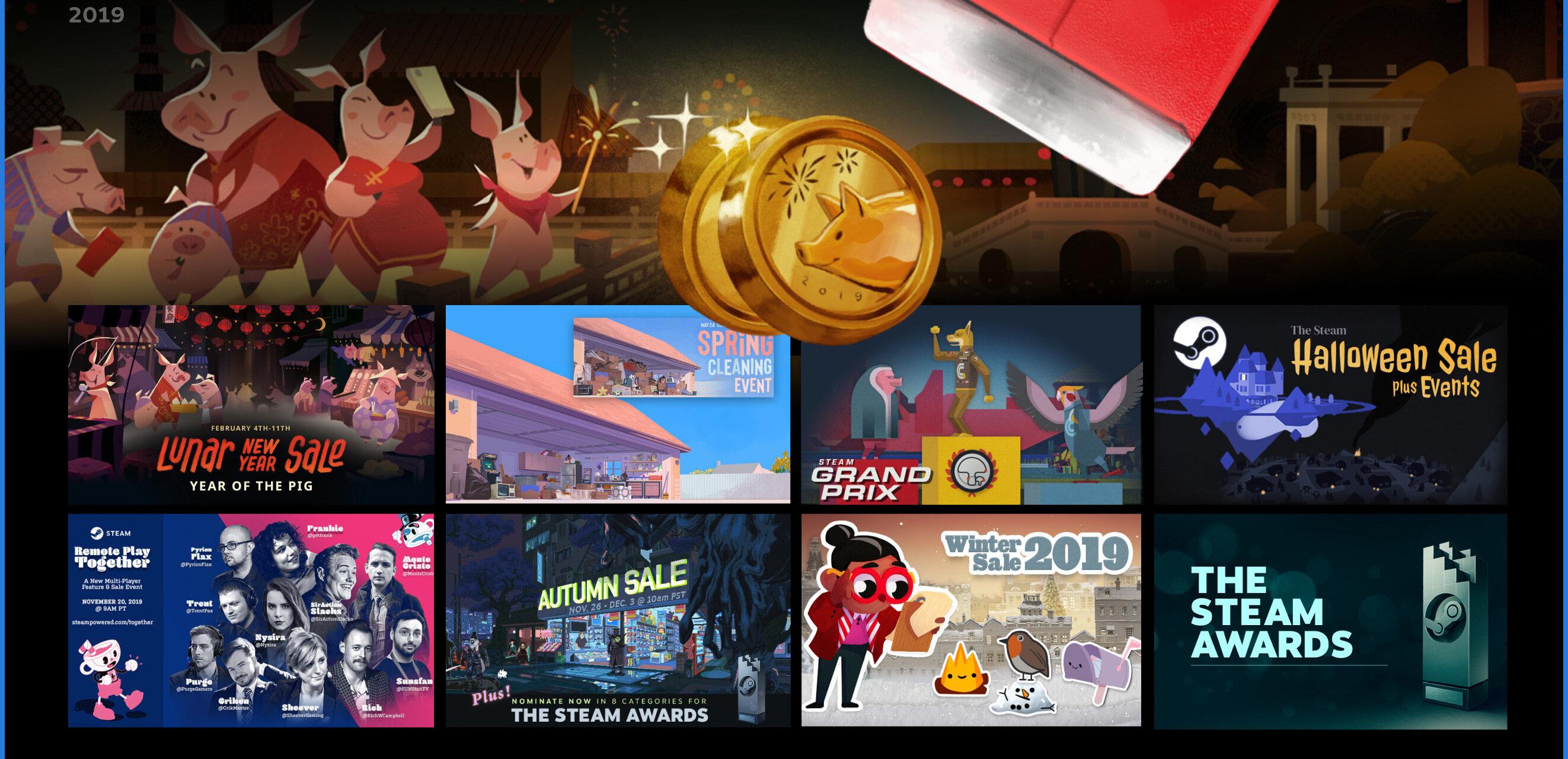 Steam fait le point sur son année 2019 et évoque ses projets de 2020