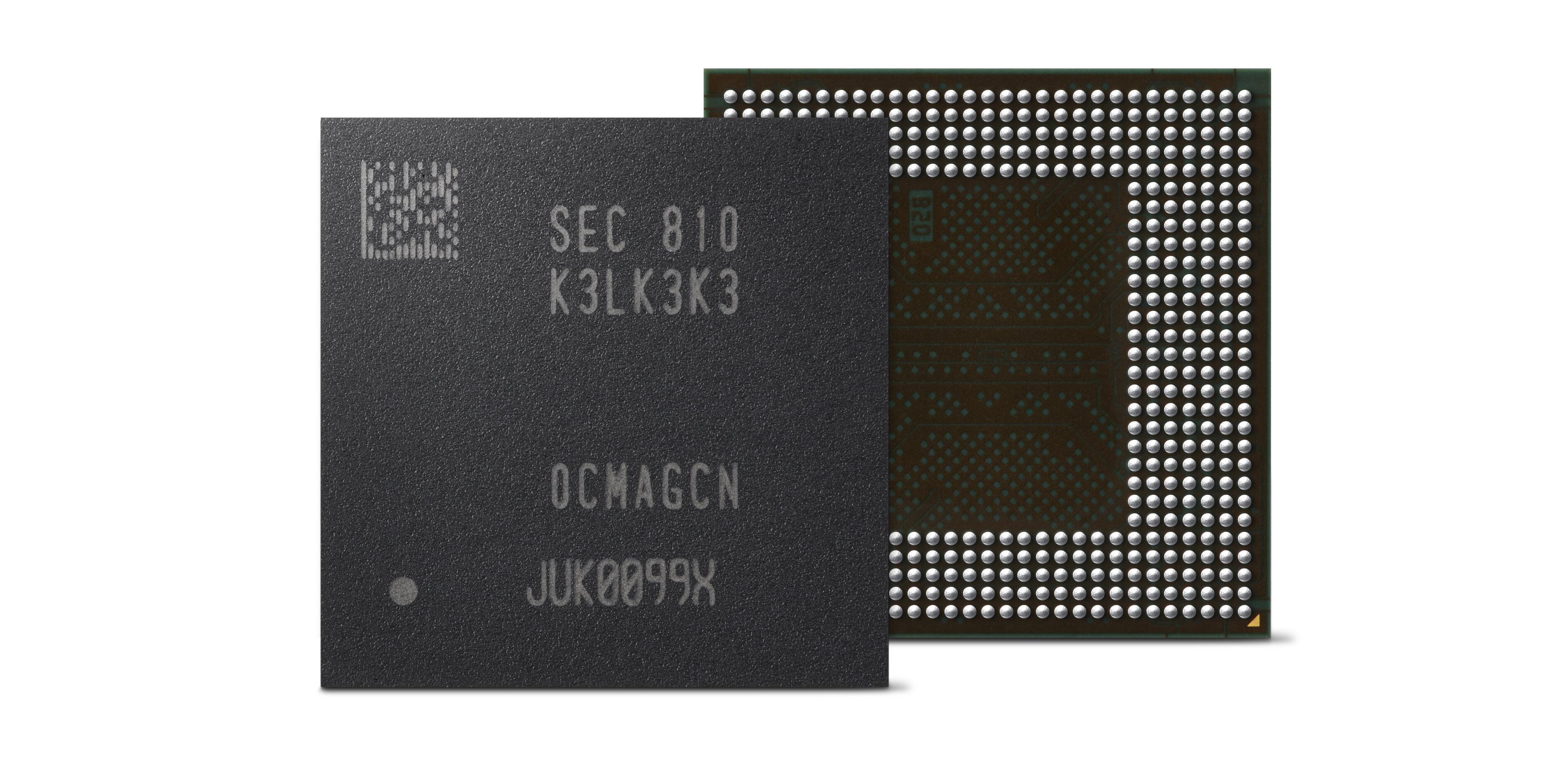 LPDDR5 : Samsung lance la production de masse de puces de 16 Go