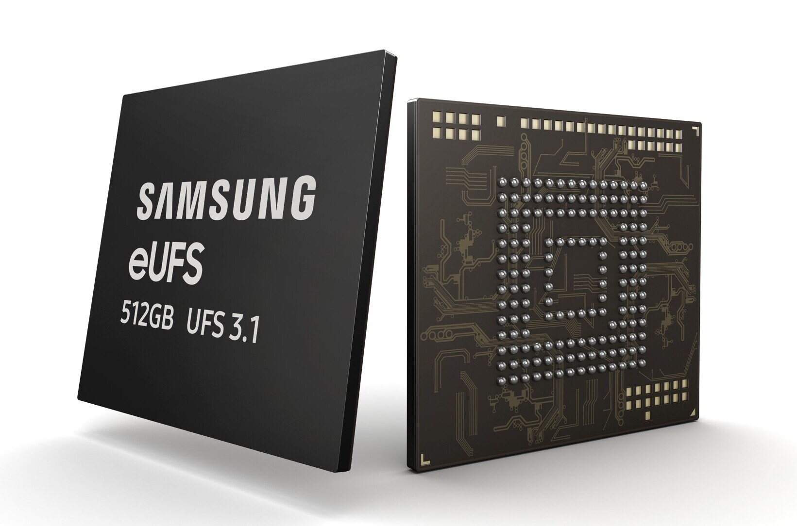 Samsung produit en masse de puces eUFS 3.1 de 512 Go : 1,2 Go/s en écriture et 100 000 IOPS