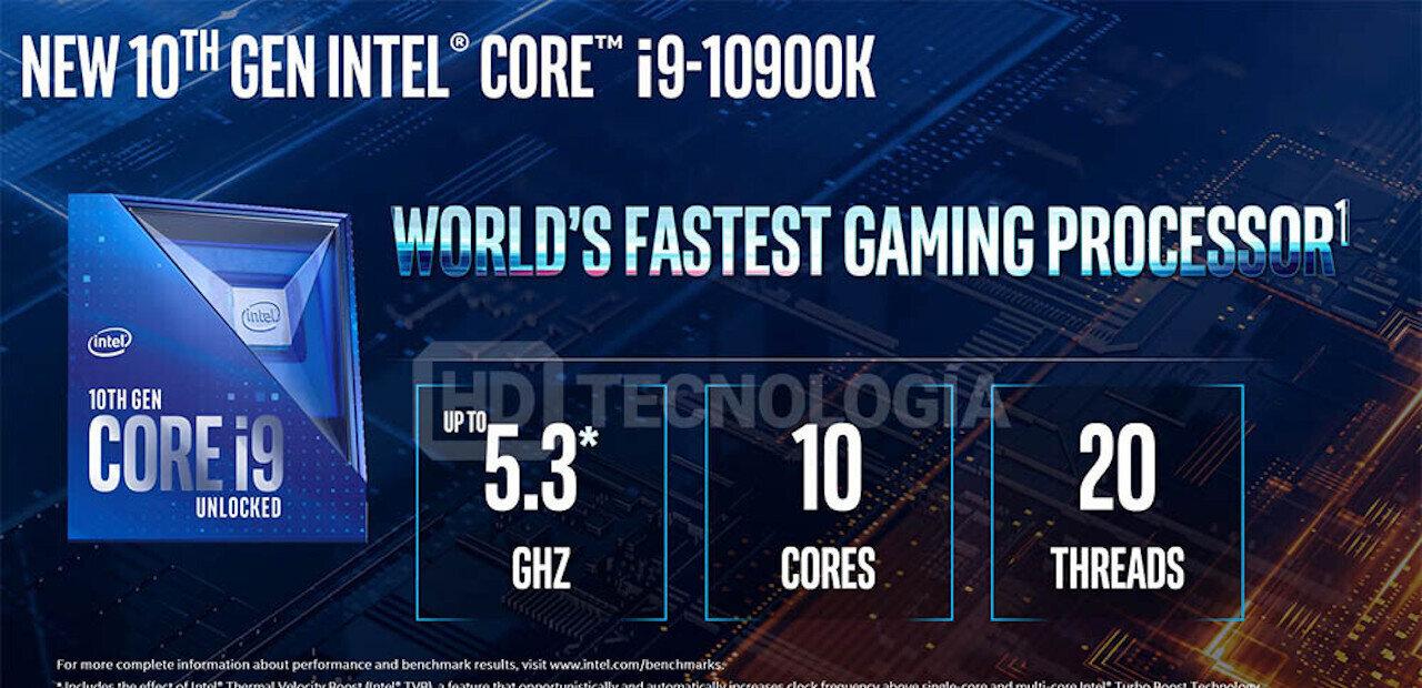 Processeurs Core de 10e génération (Comet Lake-S) : Intel grimpe à 5,3 GHz... mais baisse ses prix