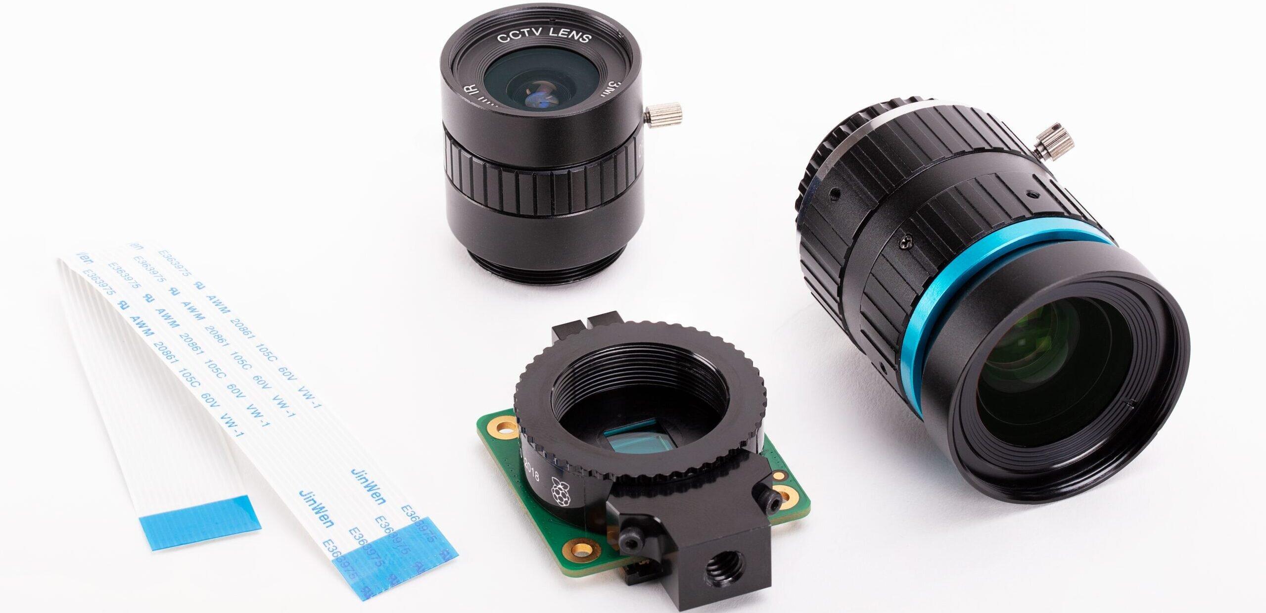 Rasbperry Pi : une HQ Camera de 12,3 Mpixels à 57 euros, avec objectifs interchangeables