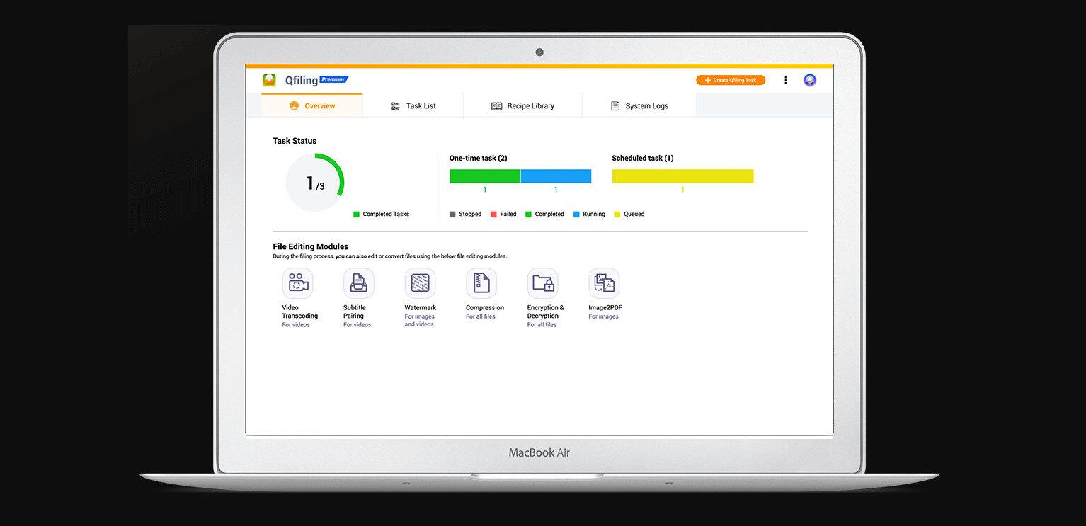 Qfiling 3.0 arrive chez QNAP : plus d'intégrations et de NAS compatibles