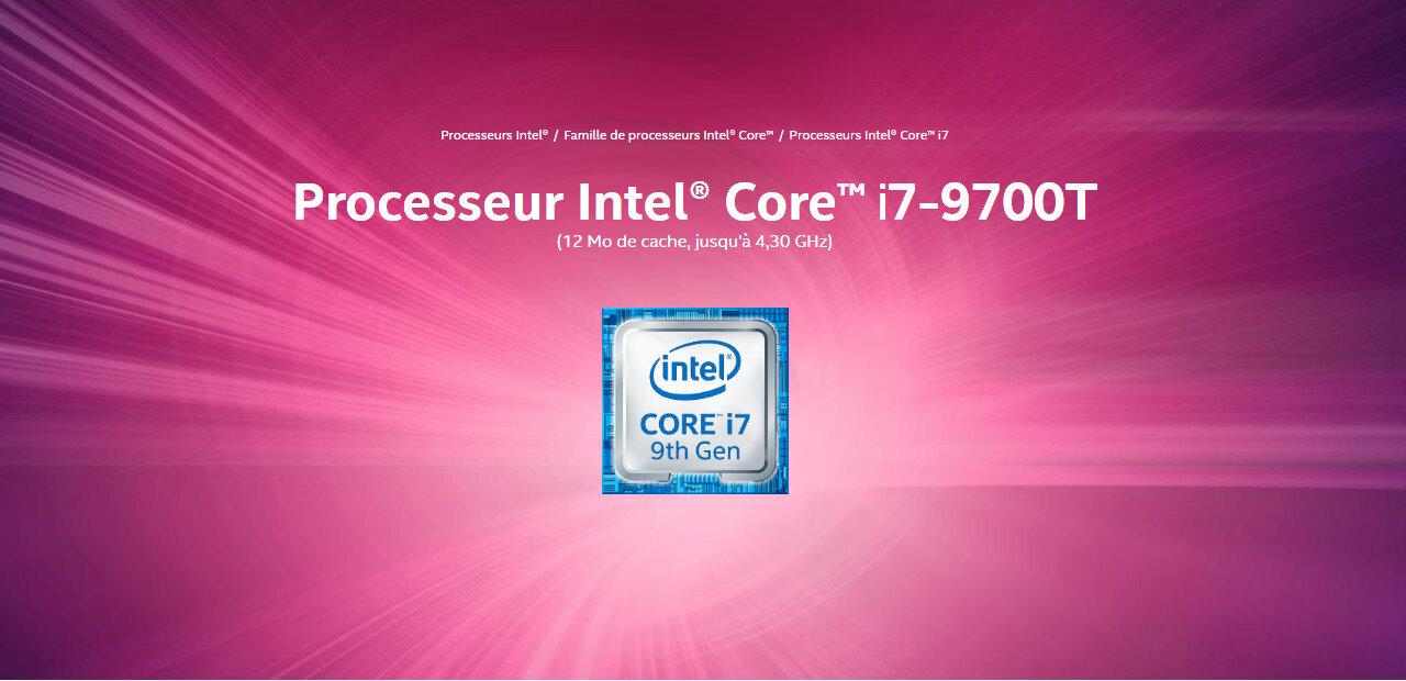 Core i7-9700T : 8 cœurs et jusqu'à 4,3 GHz dans un TDP de 35 watts, ça donne quoi ?