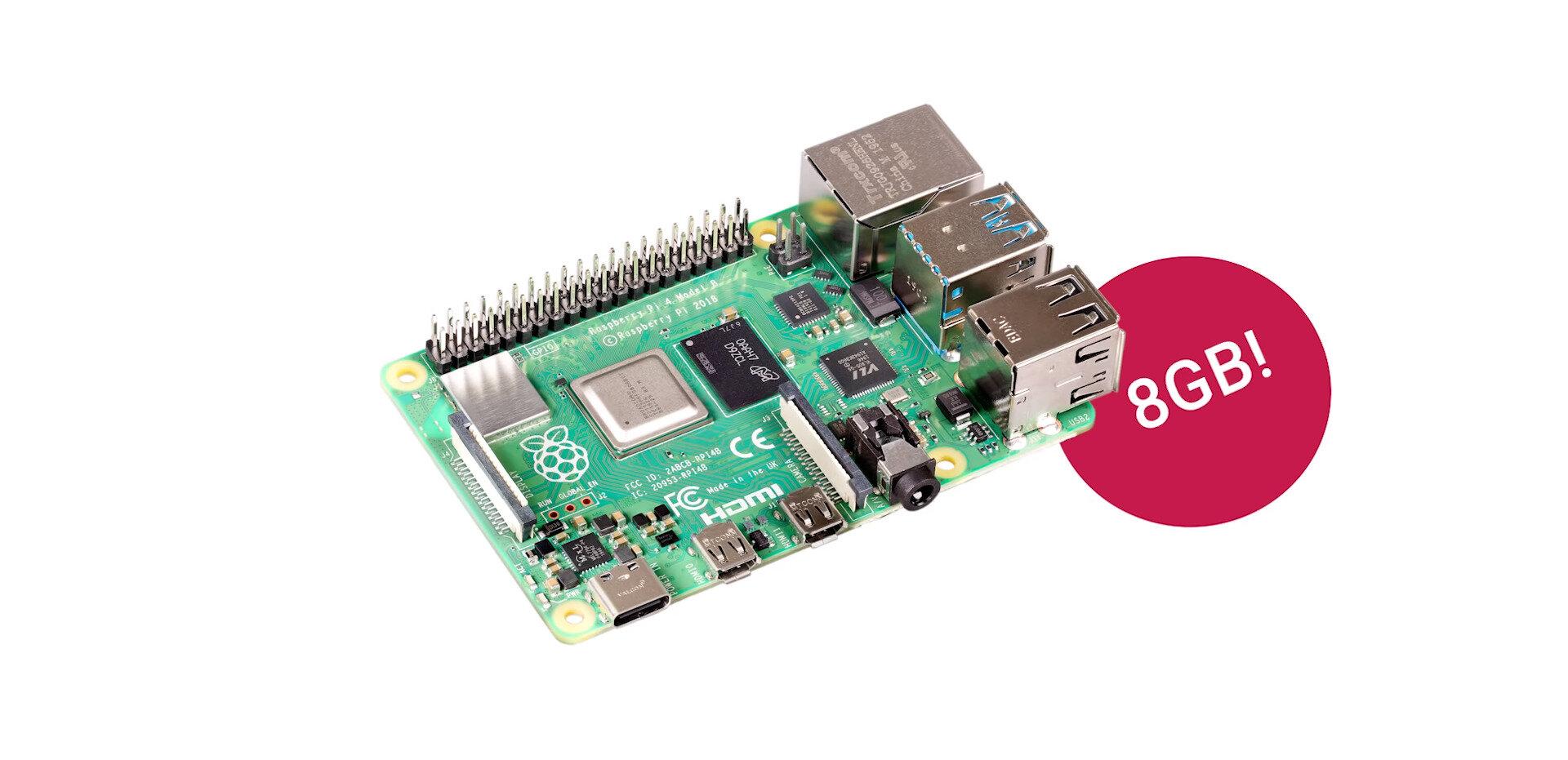 Le Raspberry Pi 4 de 8 Go est disponible, Raspbian devient Raspberry Pi OS, le 64 bits en bêta