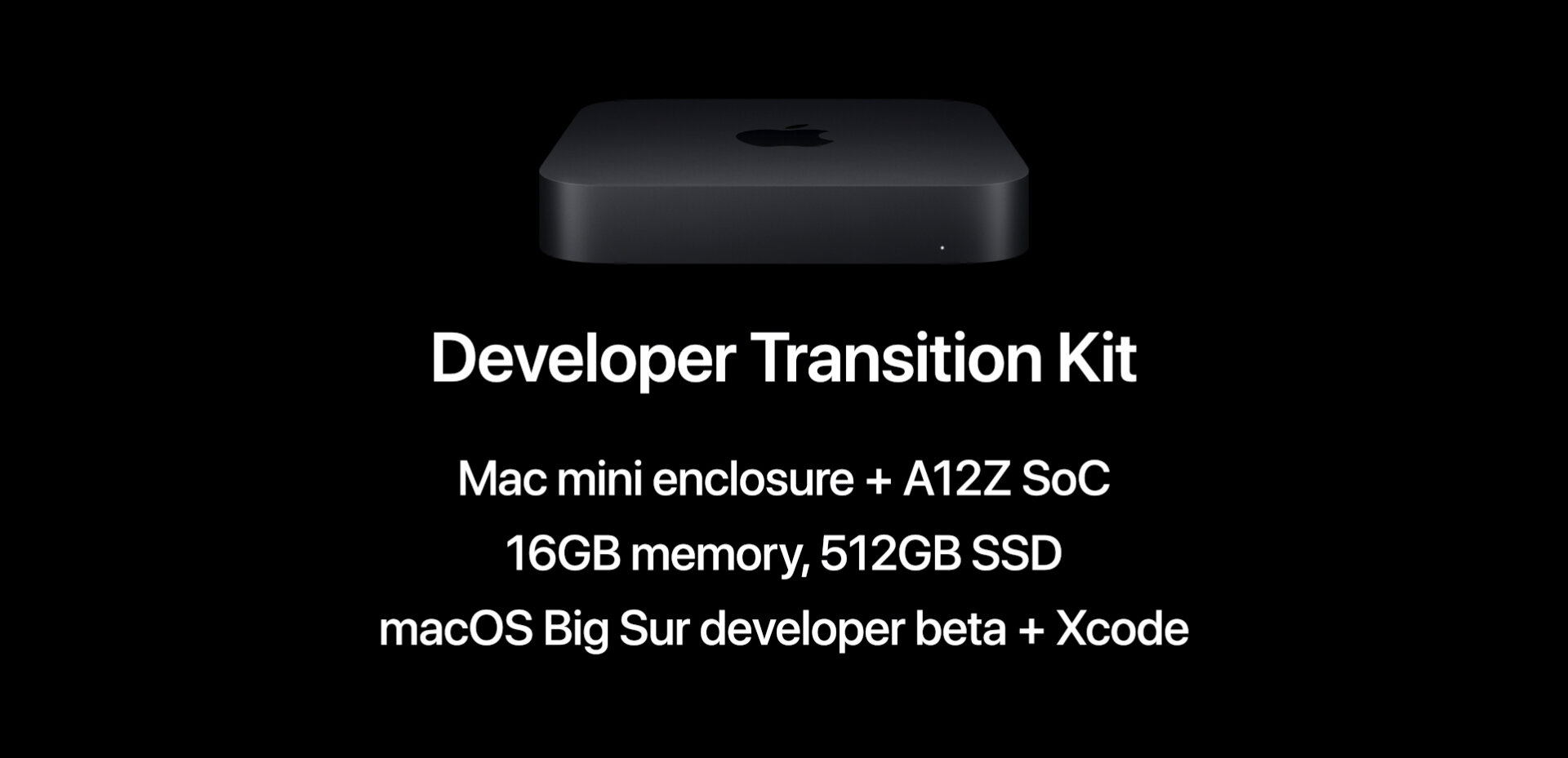 Apple Developer Transition Kit : benchmarks interdits pour son Mac mini avec SoC A12Z Bionic