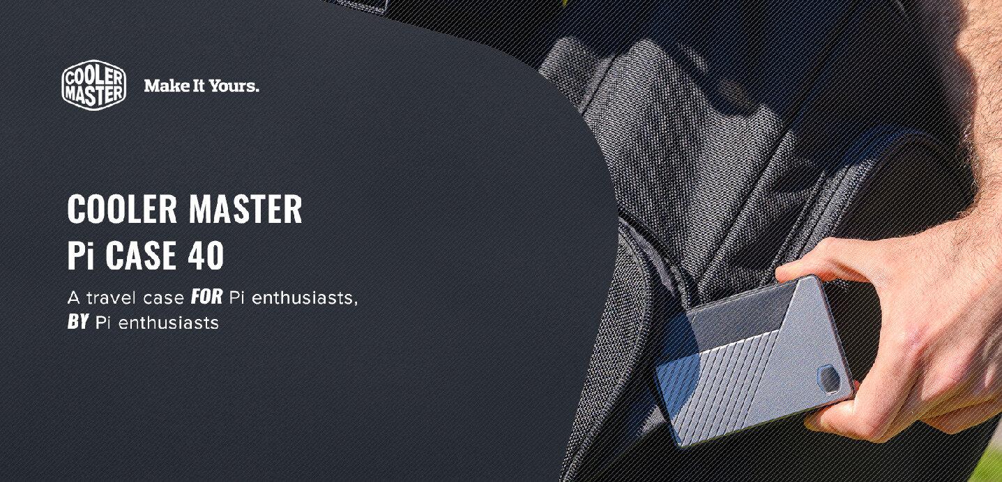 Cooler Master lance son boîtier pour Raspberry Pi 4 sur Kickstarter, financé en 1 heure