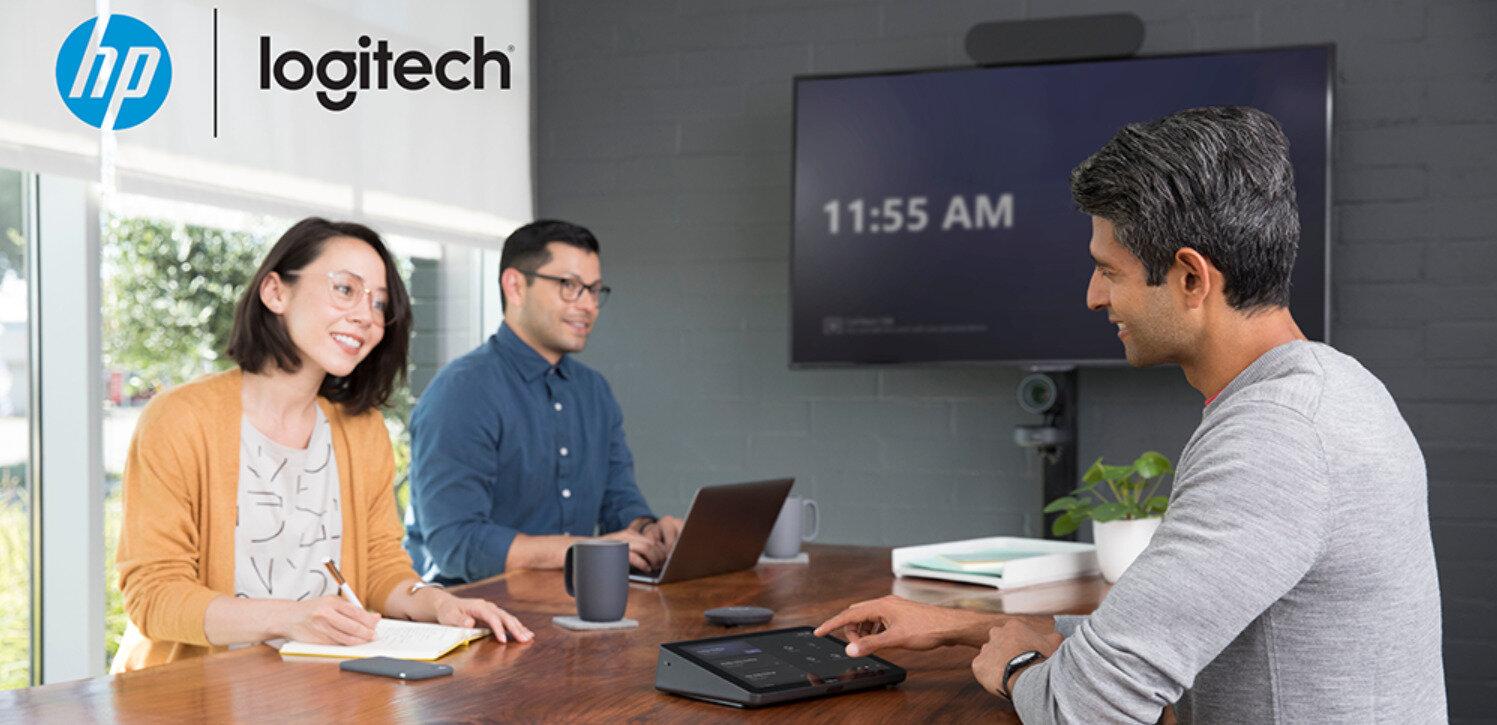 Vidéoconférence : Logitech propose des micro-ordinateurs HP avec son kit Tap (Teams ou Zoom)