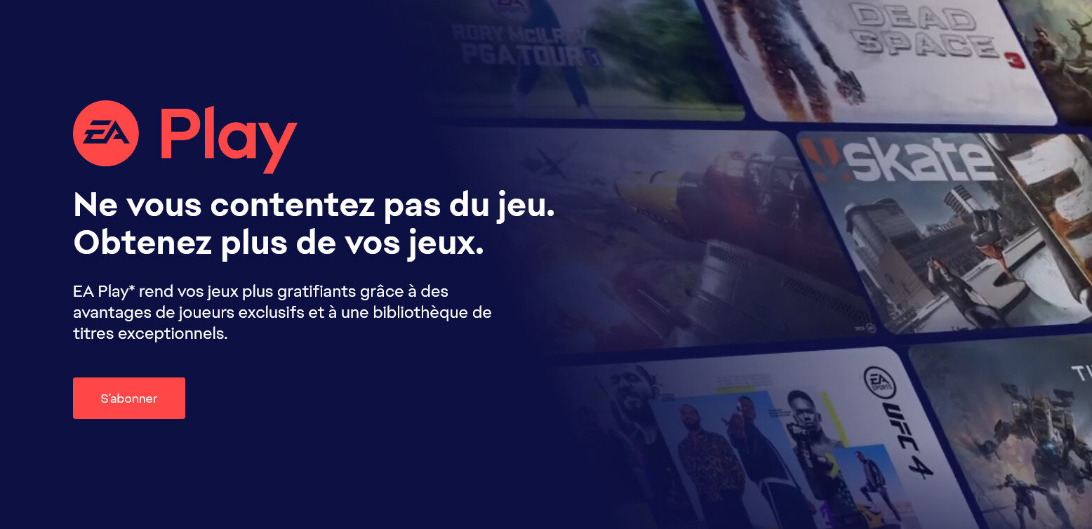 EA Play (Pro) : Electronic Arts unifie ses abonnements, sur Steam le 31 août
