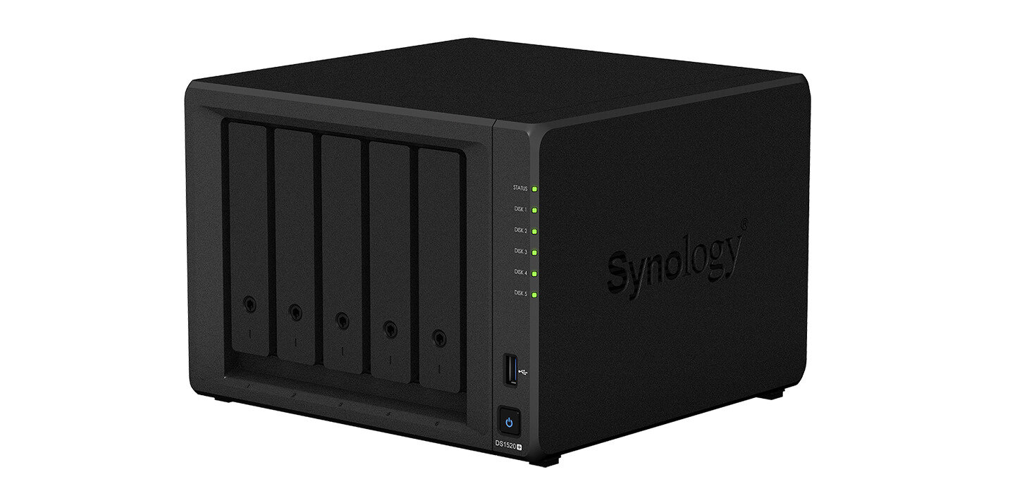 Synology DS1520+ : du M.2 mais pas de Multi-Gig ou de port PCIe