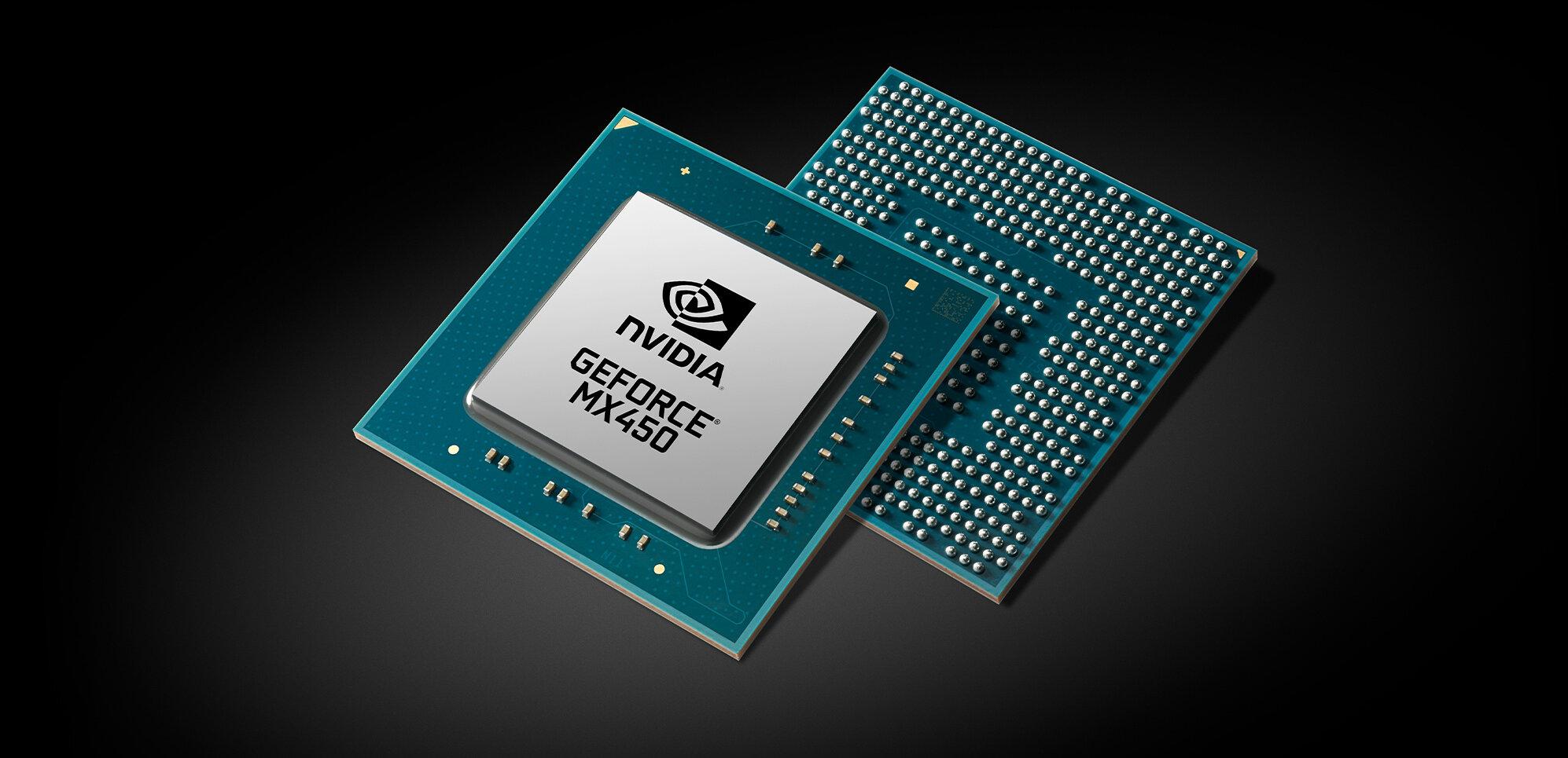 NVIDIA annonce sa GeForce MX450 PCIe 4.0... pour contrer DG1 d'Intel dans les portables ?