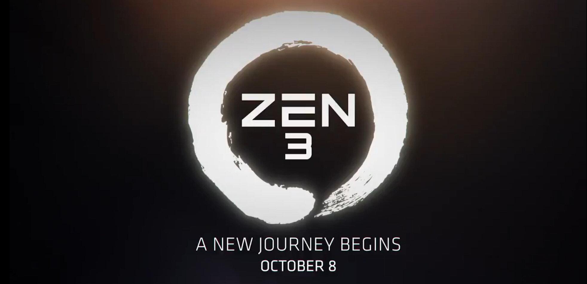 AMD annoncera Zen 3 le 8 octobre, les Radeon RX 6000 le 28 octobre