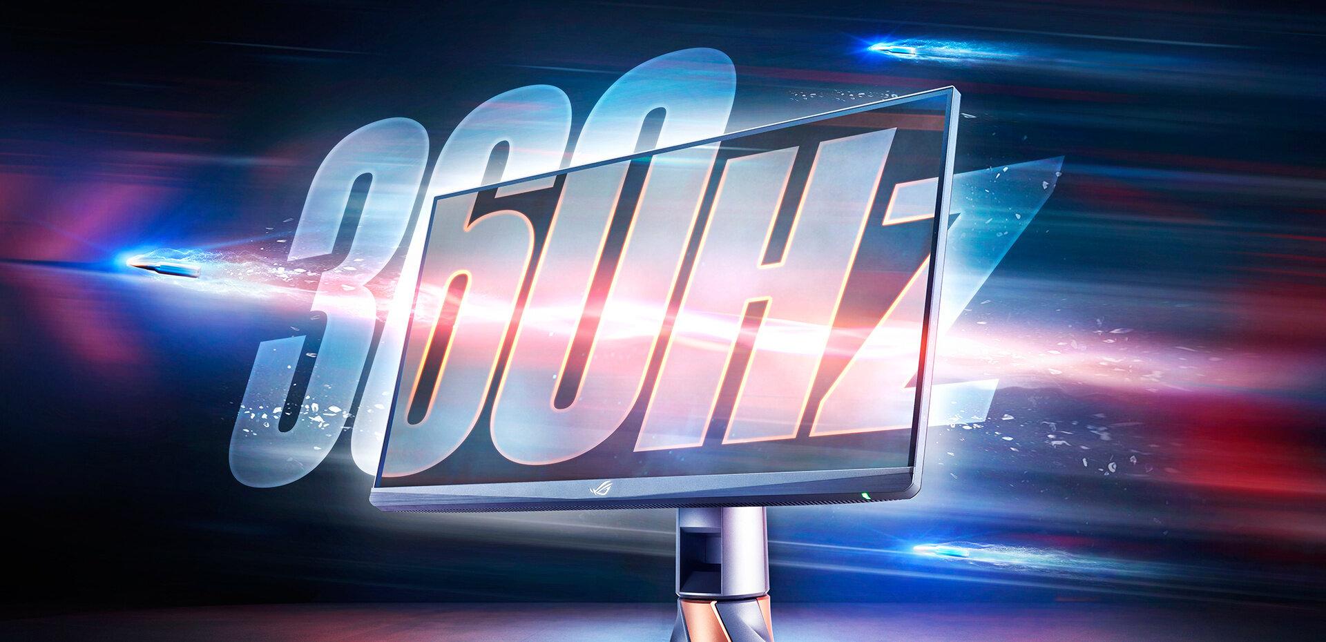 ROG Swift PG259QN : l'écran à 360 Hz d'ASUS arrive chez les revendeurs à 700 euros
