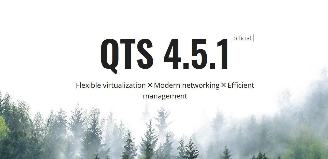 QNAP publie QTS 4.5.1 et étend la portée de son offre QuTScloud