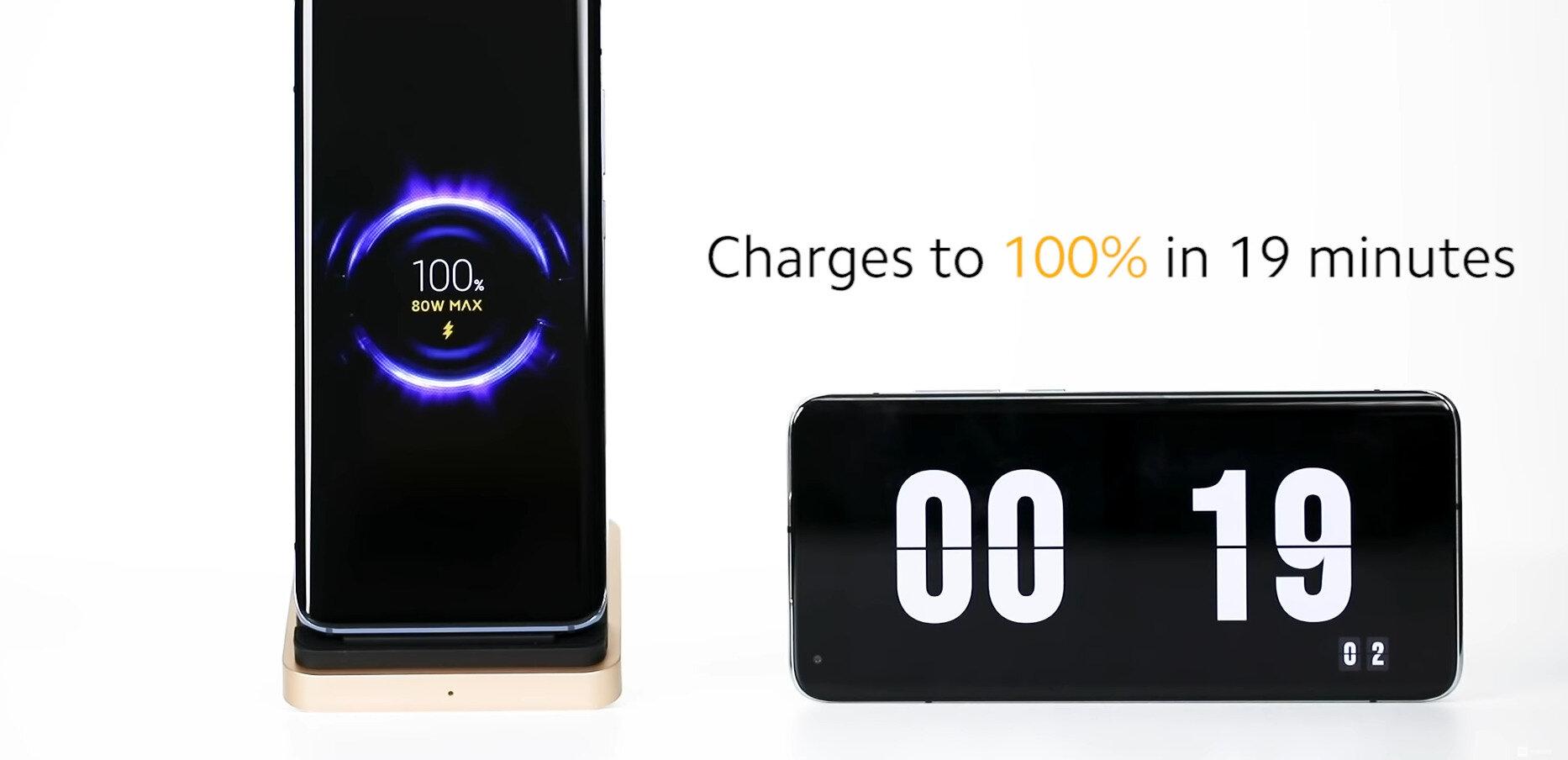 Charge sans fil ultra-rapide : Xiaomi grimpe à 80 watts, 4000 mAh en 20 minutes