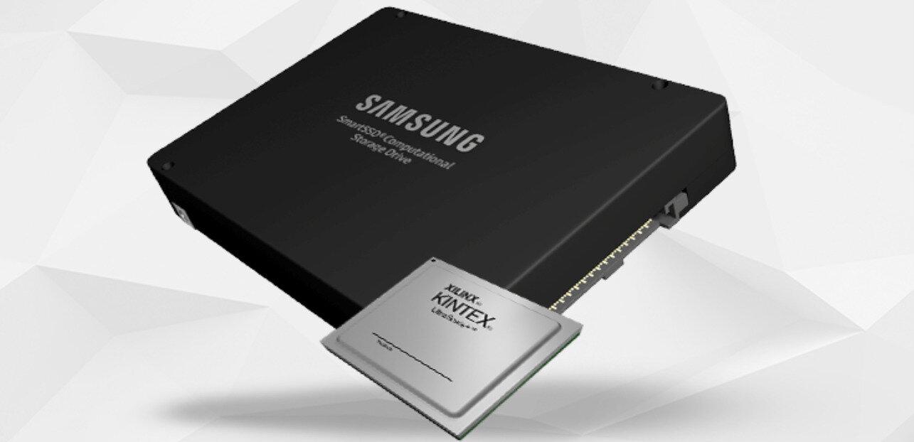 SmartSSD (U.2) de Samsung : 3,84 To de stockage et un FPGA Xilinx