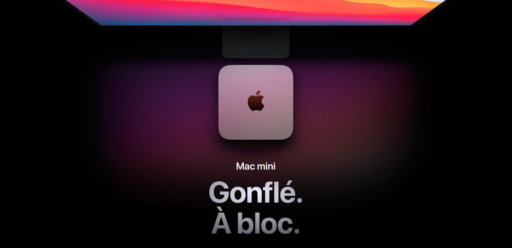 Mac mini avec Apple M1 : nos premiers résultats (natifs)