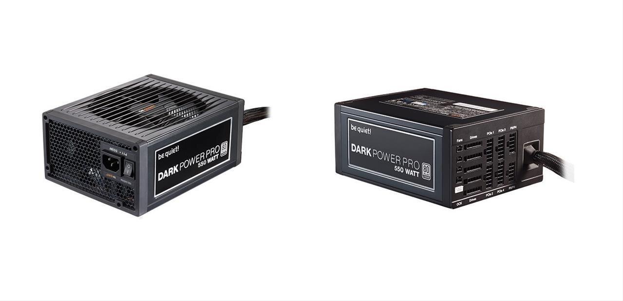 Be quiet : trois alimentations 80Plus Platinum de 550 à 750 watts