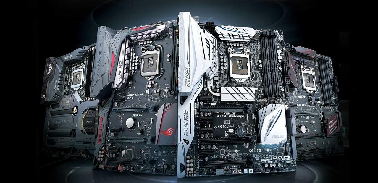 Cartes mères ASUS Z170 : DDR3/4, mini-ITX, USB 3.1, Type-C, M.2, overclocking... entre autres