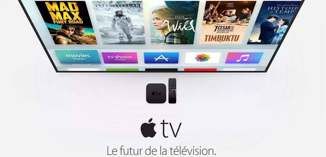 La nouvelle Apple TV est disponible dès 179 euros