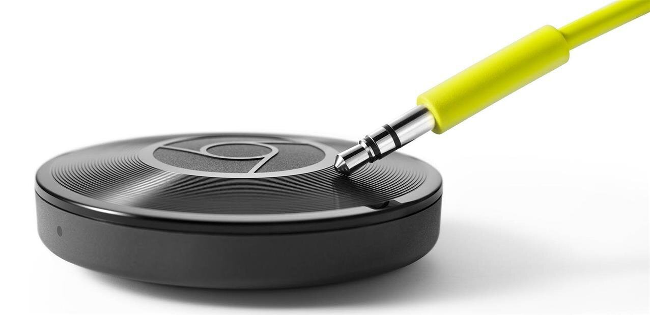 Chromecast Audio passe au Hi-Res 24 bits et au multiroom