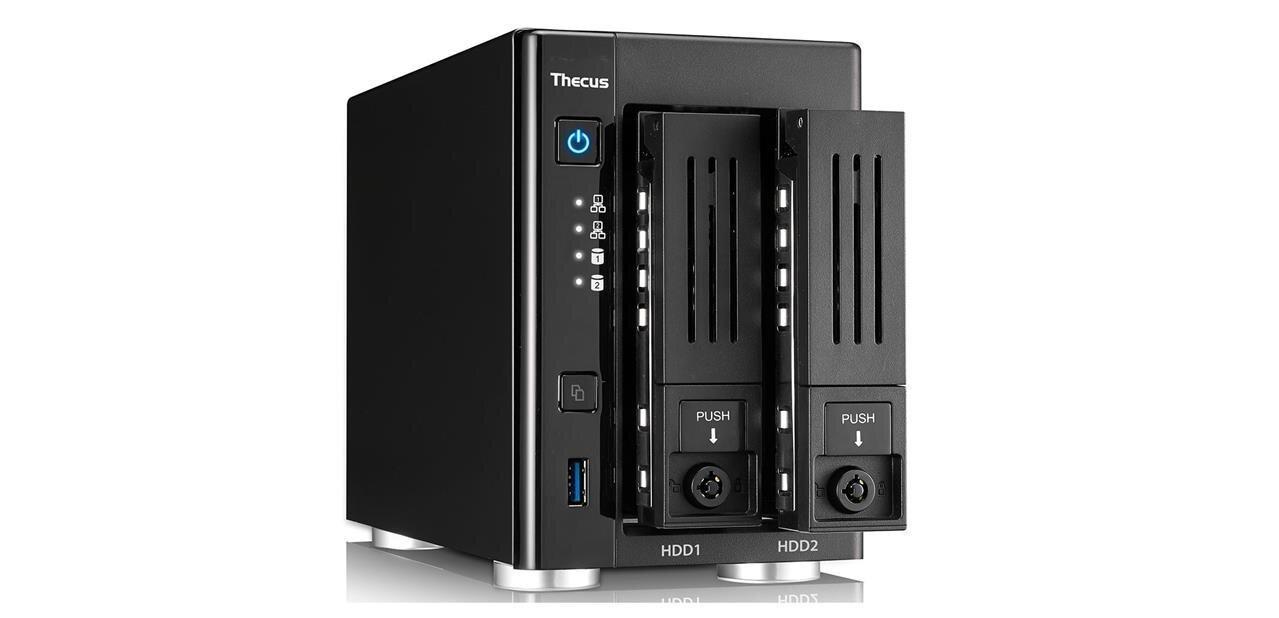 NAS Thecus N2810Plus : une partie matérielle améliorée, toujours avec ThecusOS 7