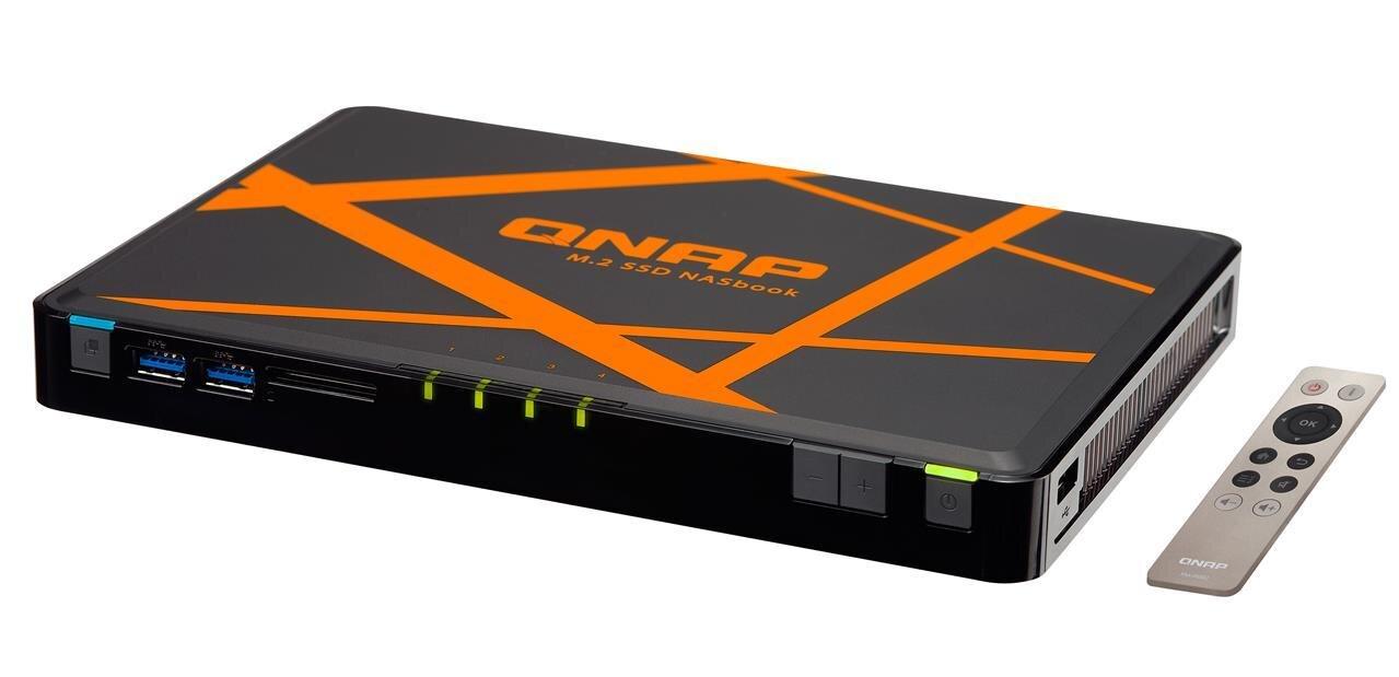 QNAP dévoile son NASbook TBS-453A, le couteau suisse du NAS ?