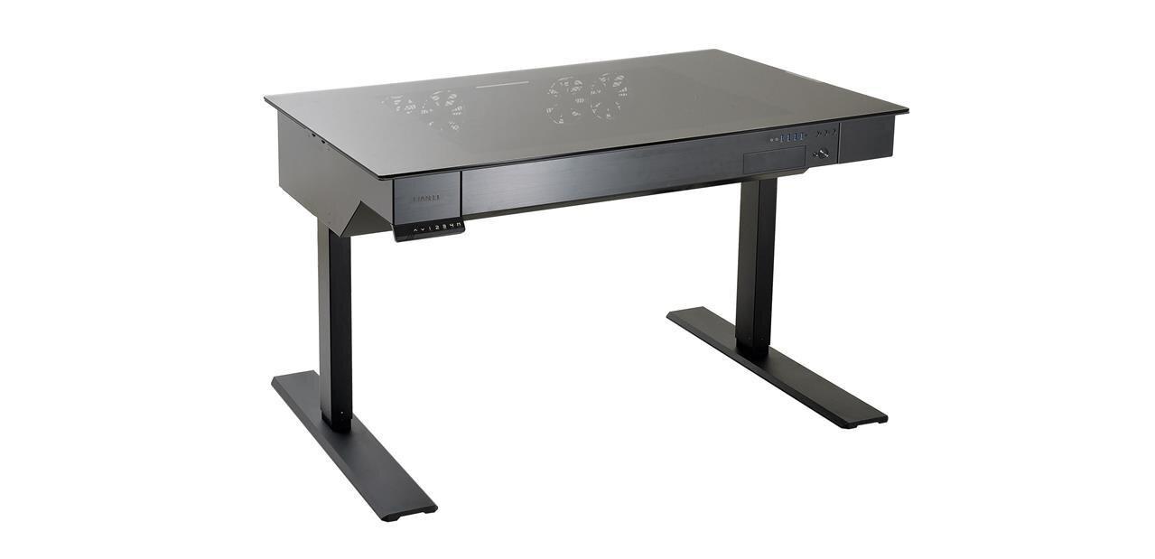 Lian Li DK-04 : un boîtier-bureau réglable en hauteur pour 1 499 dollars
