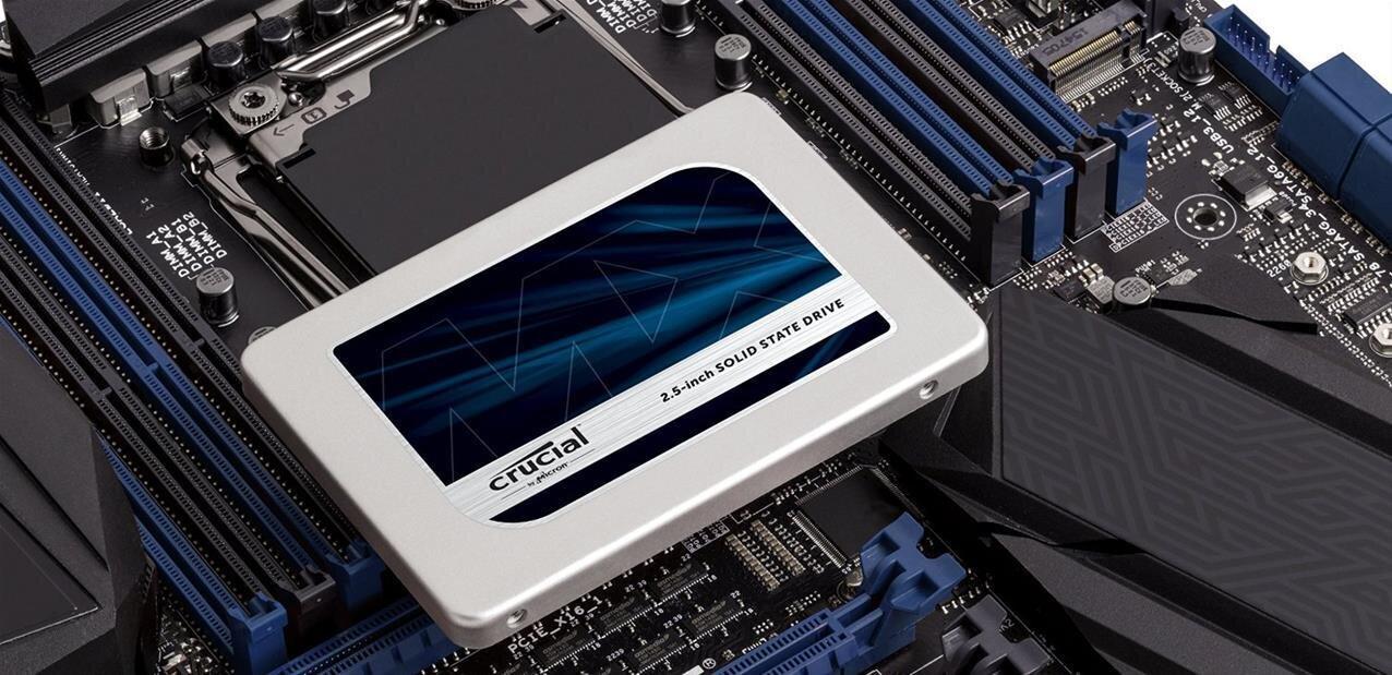 Les SSD Crucial MX300 arrivent, le modèle de 750 Go vendu 209 euros